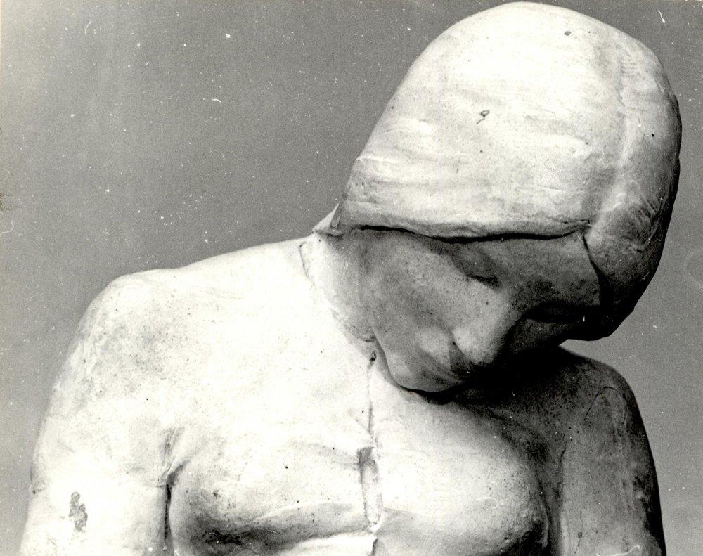 Kvinnehode by Gustav Vigeland