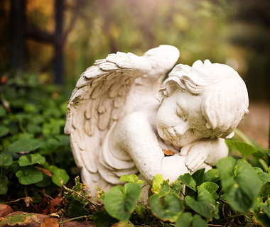 Angel in The Old Stone House garden.jpg
