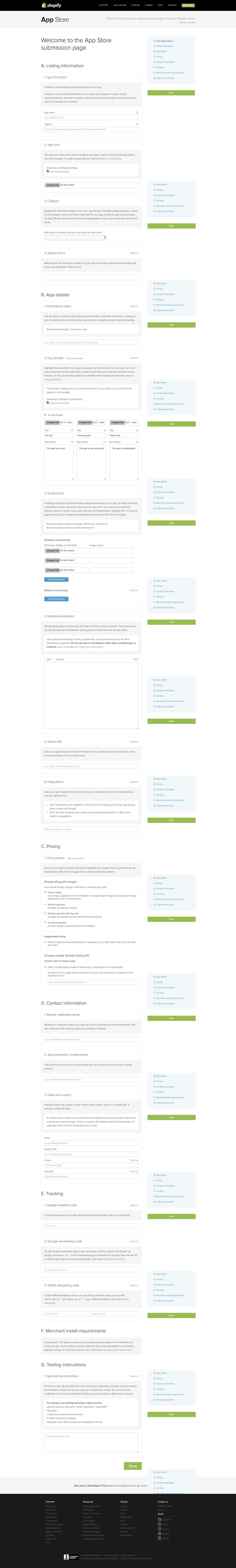 App Submission form v2 [Enhanced]