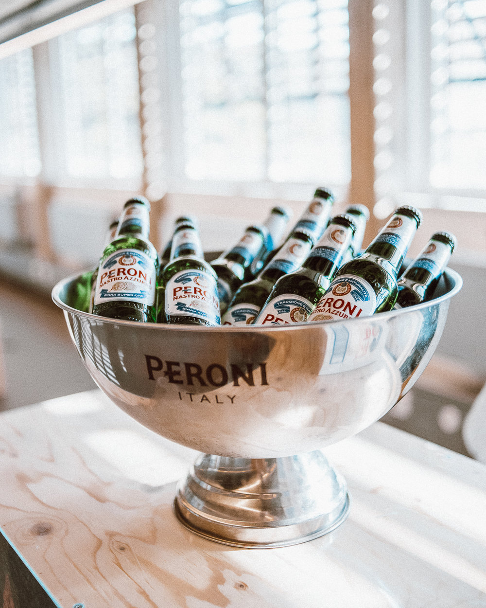 Luca Deasti | Creative and Art Director | Galleria Peroni | Peroni Nastro Azzurro