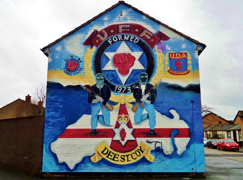 The evolution of murals in east belfast jamie baird for Mural northern ireland