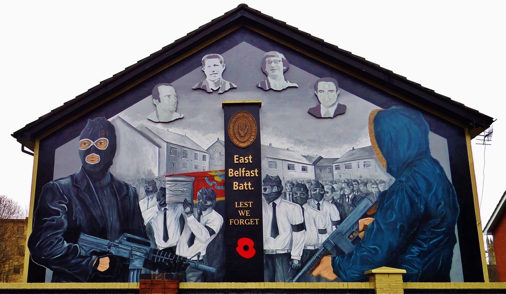 The evolution of murals in east belfast jamie baird for Mural belfast