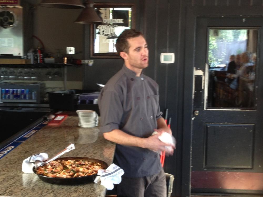 Chef Stephen Thompson