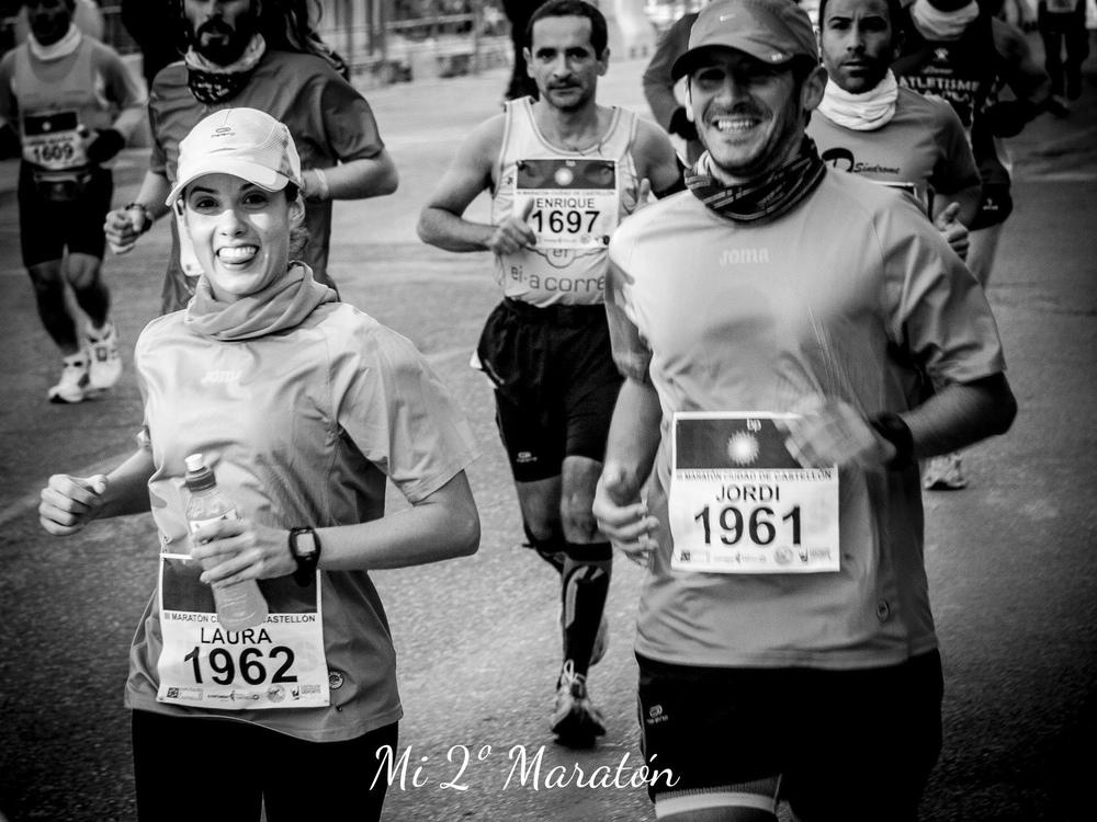 Segundo maratón 4 horas,2012