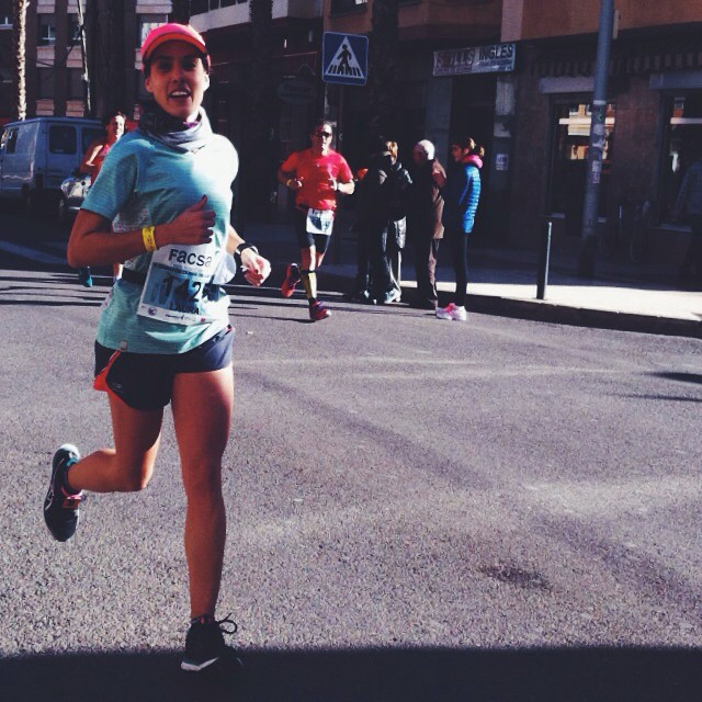 Tercer maratón 3:45 horas,2014