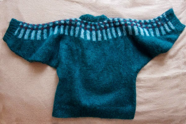 Dolman Sweater (back)