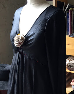 Señorita Dress (in process), 2015