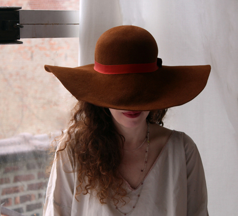 Rust Hat, Daisy Chain, Sandstone Dress.jpg