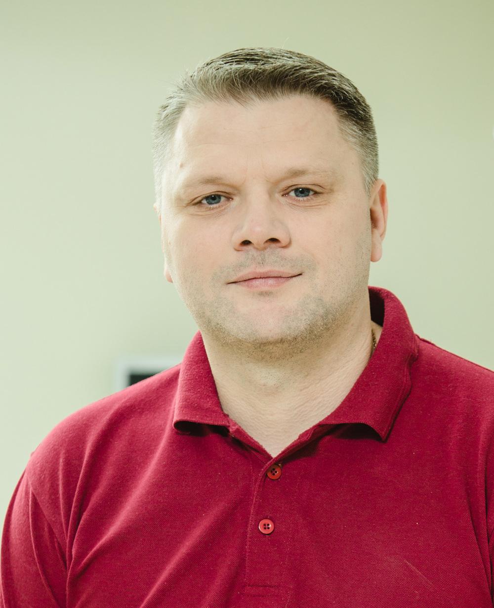 Олег Войтович - лікар-остеопат