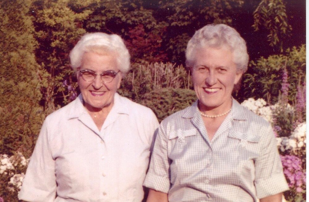 Esther and Helene Foellinger