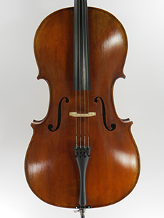 Roderick Paesold, 2001 $6200 A beautifully made and varnished cello from the acclaimed Paesold shop in Baiersdorf, Germany. This instrument has a big, full sound that responds quickly and fingers instantly. There is enough age for rich sound but the cello is in almost new condition.  Questions about this instrument? Contact us through this site or call 802-229-1501. Learn More...
