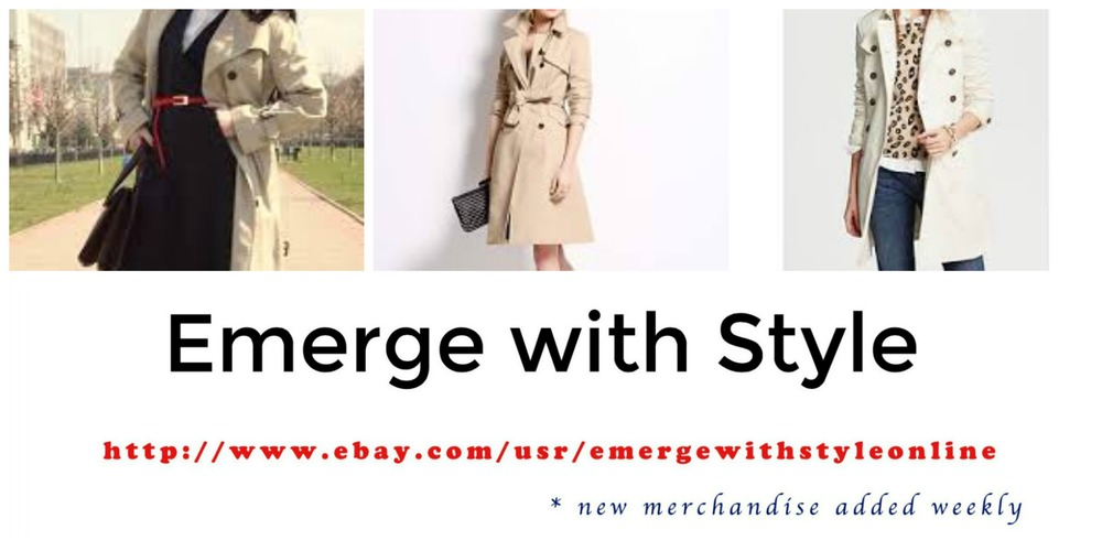 Emerge With Style Trench Coats