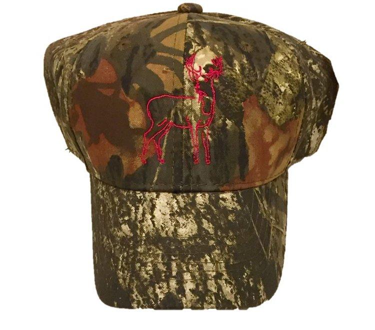 653cc78e533 Camo Pink Deer Trucker Hat — Mustard and Ketchup Kids