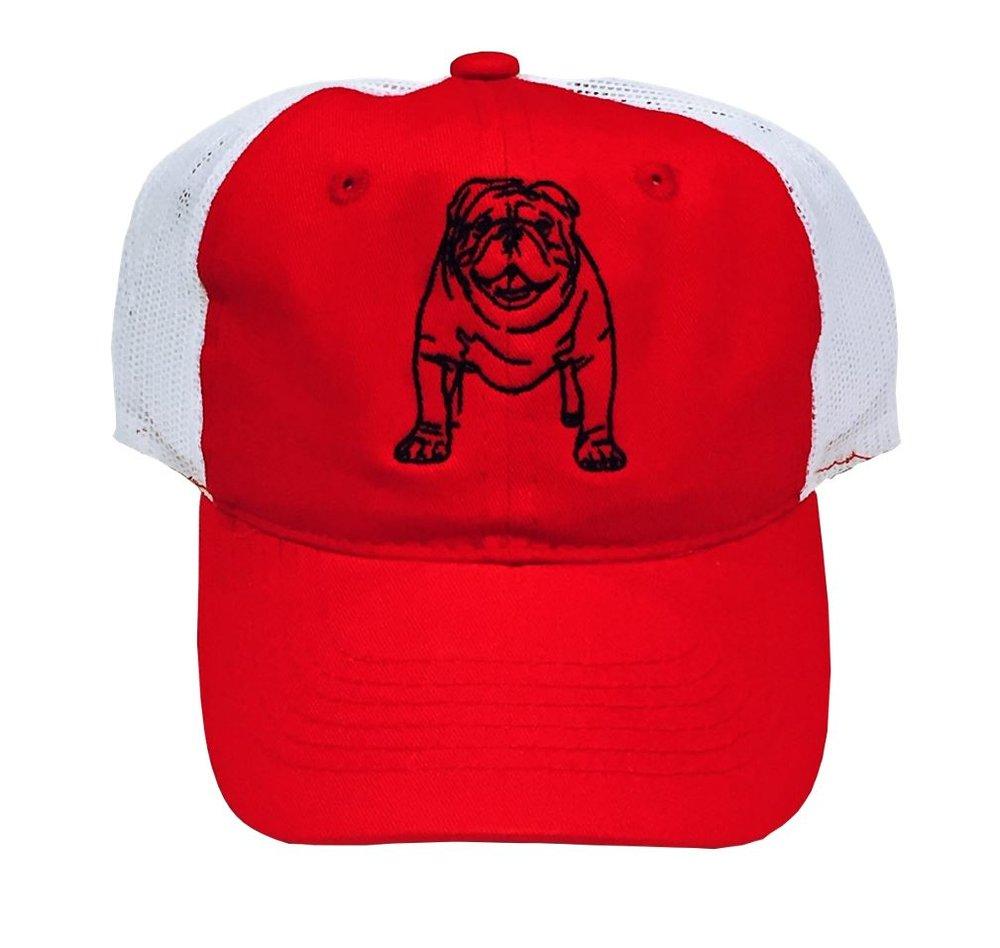 Bulldog Trucker Hat $20.00