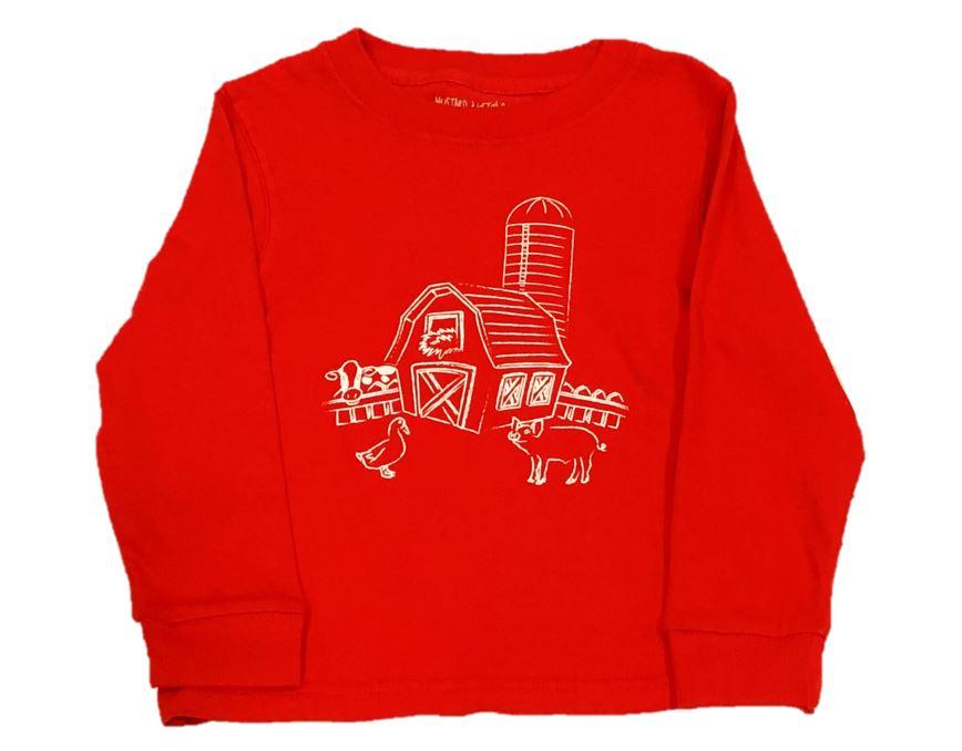 Long Sleeve Red Barn Tee  $24