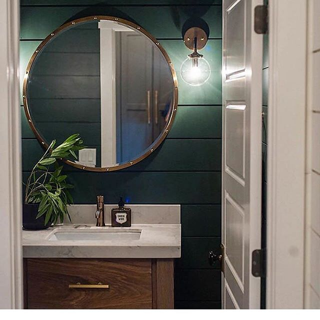 Lighting is EVERYTHING! Which is why we LOVE @shadesoflight! Such an amazing selection, and they just get us! 💡✨ 📷:@shadesoflight  #stellar #remodel #design #designlife #light #lighting #lightingiskey #bathroom #remodeling #renovation #wall #sconce #charlottesville #va #uva
