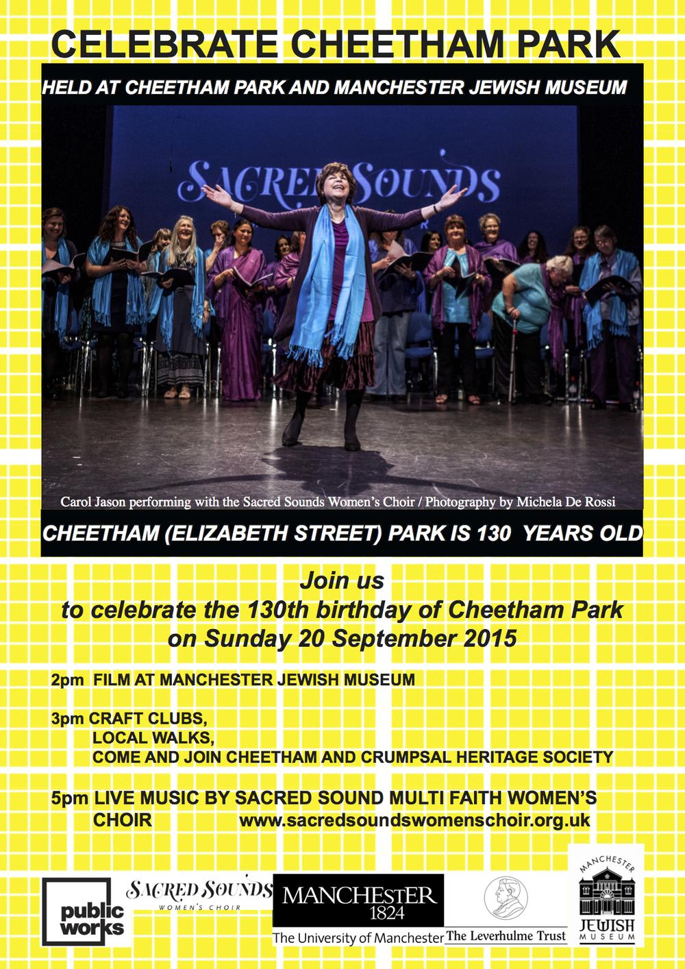 Celebrate Cheetham Park