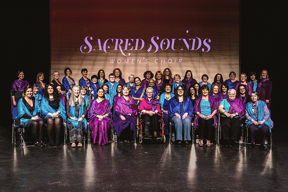 Sacred Sounds Women's Choir, 2015 Photo: Michela De Rossi