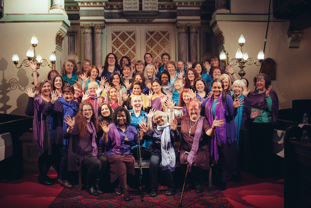 Sacred Sounds Women's Choir at the Manchester Jewish Museum Photo: Ray Chan