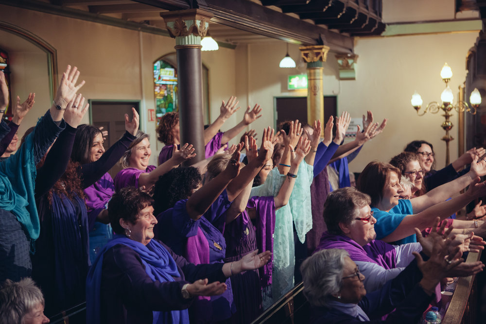 Sacred Sounds Women's Choir Showcase Event 2016 Photo: Ray Chan