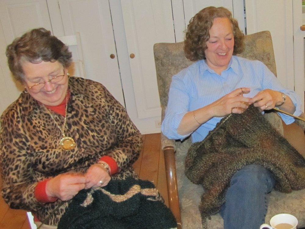 Prayer Shawl Knitting Circle