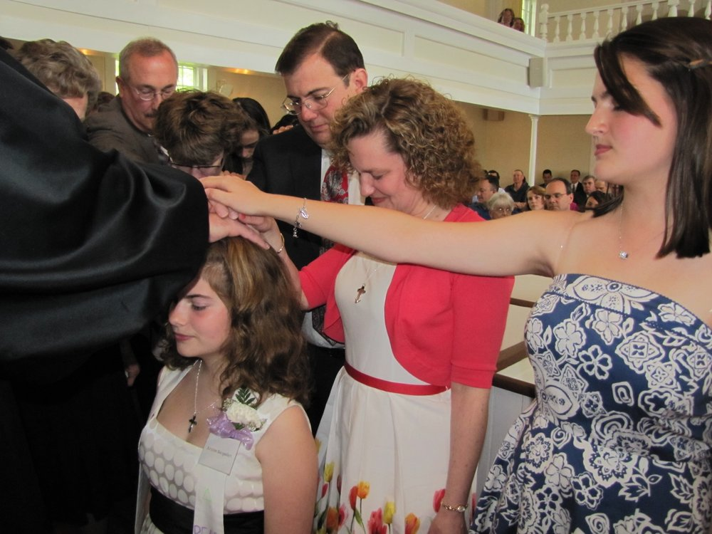 United Church of Christ, Southbury Confirmation Service