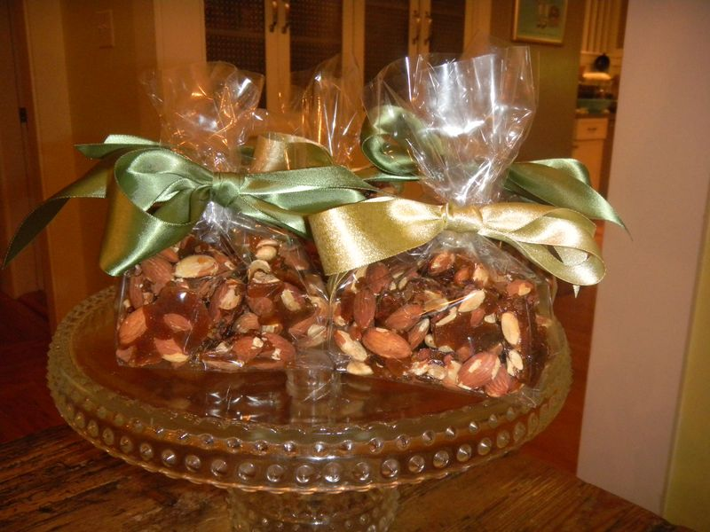 AFGHAN ALMOND CARDAMOM BRITTLE:AN UNEXPECTED HOLIDAY GIFT