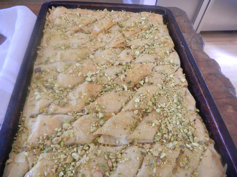 Stinson beach easter baklava 145