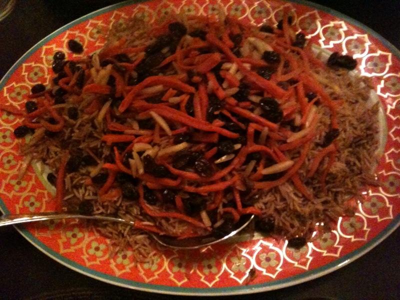 Afghanistan 39 s national dish kabuli palau afghan for Afghanistan cuisine food