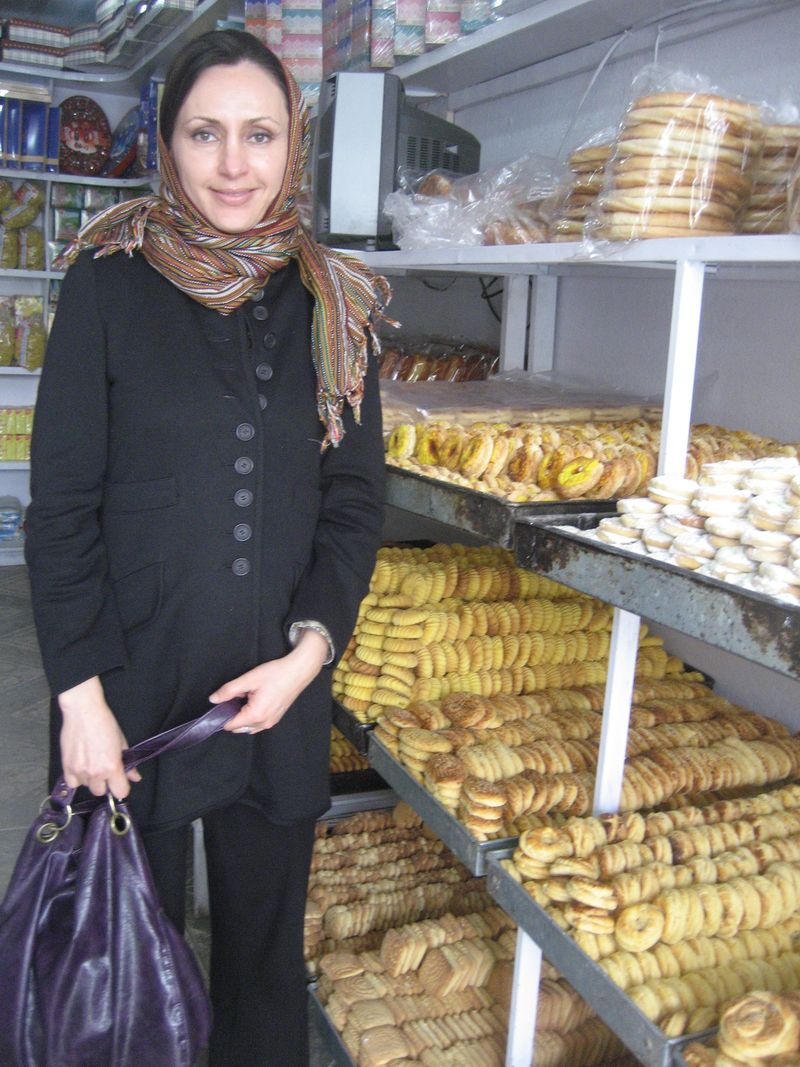 Me in the Kabul bakery