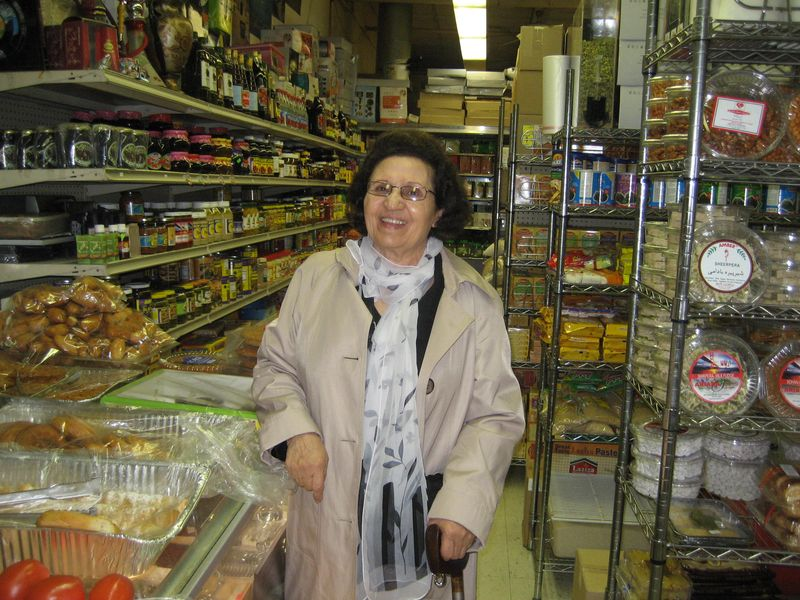 Jeja in her favorite market
