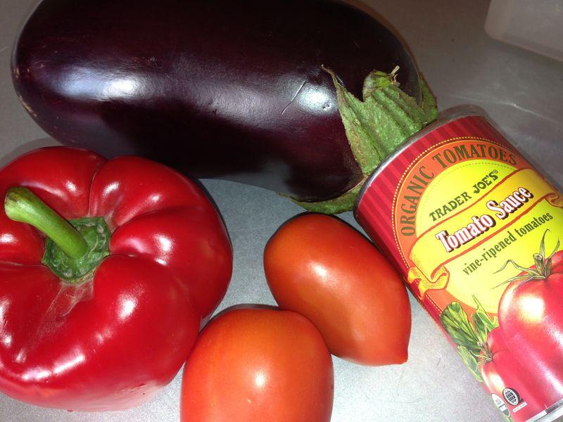 Eggplant&TomatoSauce