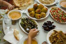 A big feast is part of every Eid celebration