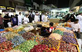 Sweets are a big part of Eid holiday