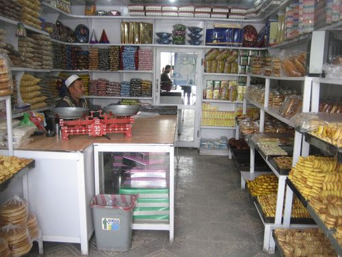 Kabul pastry and sweet shop