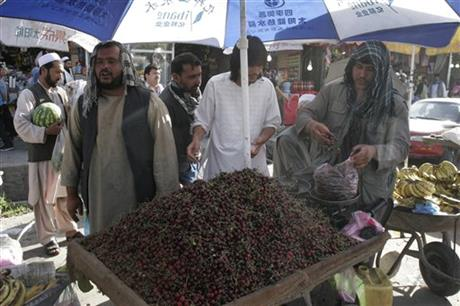 AfghanStreetVendorCherries