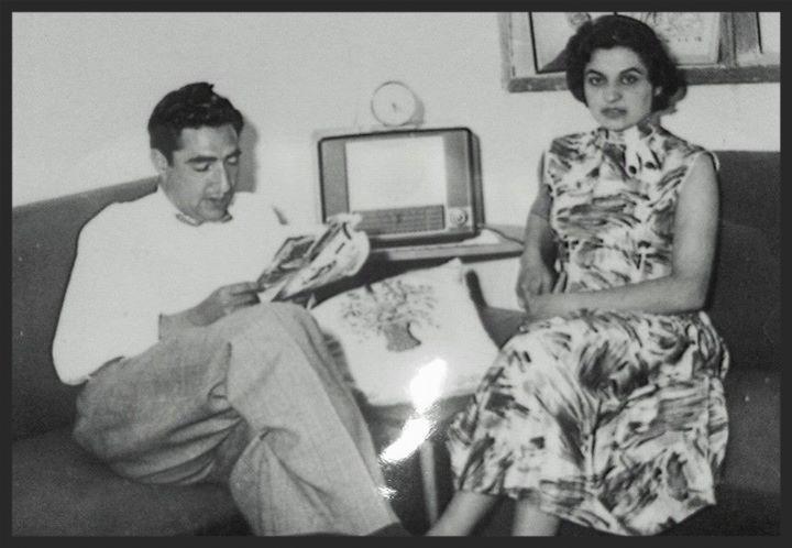 Ghulam Farouq and Khadija Ghilzai - My parents in Kabul
