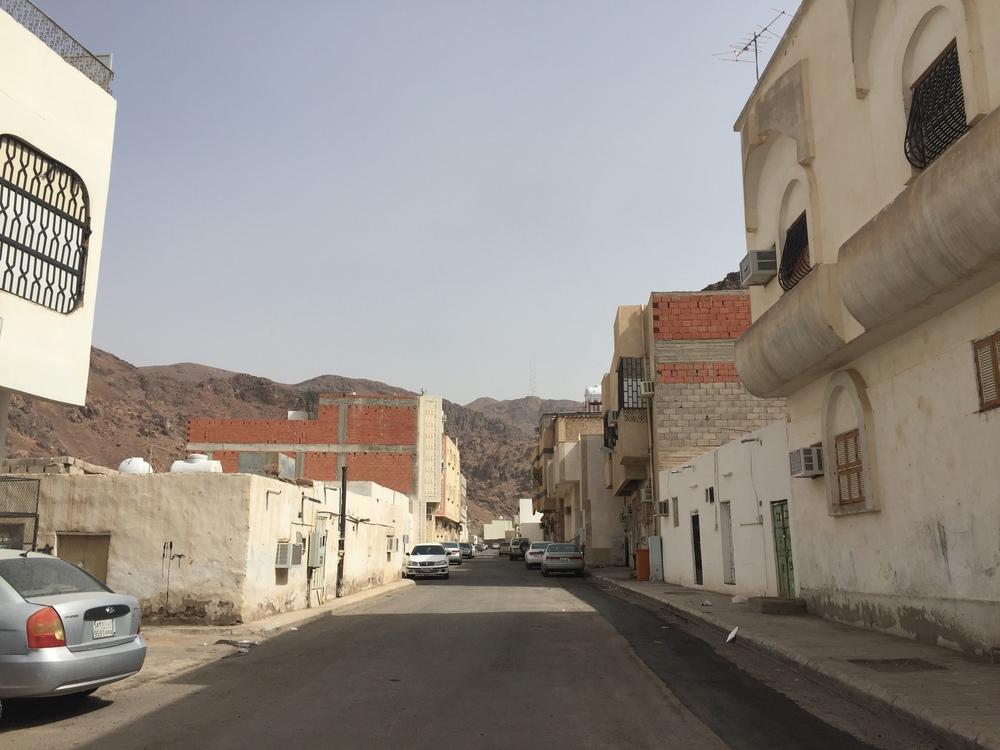 A glimpse inthe back streets of Medina