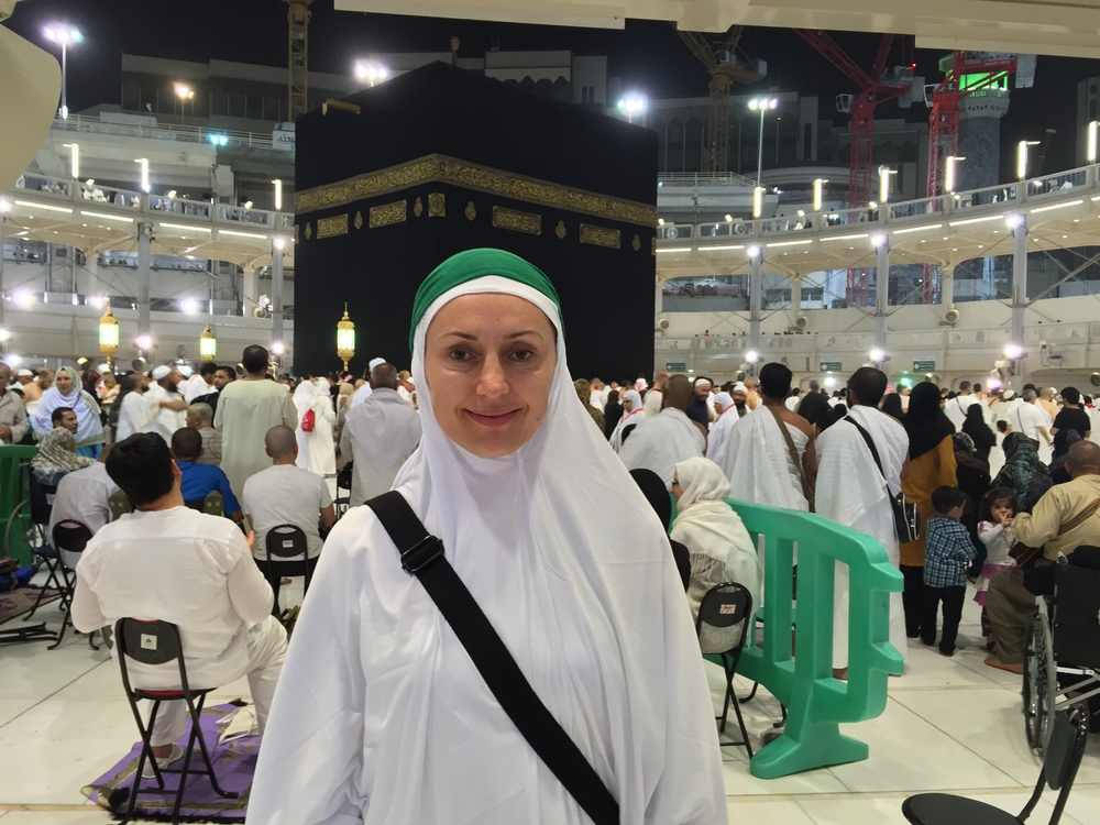 I'm in Ihram, ready to start my first Umrah