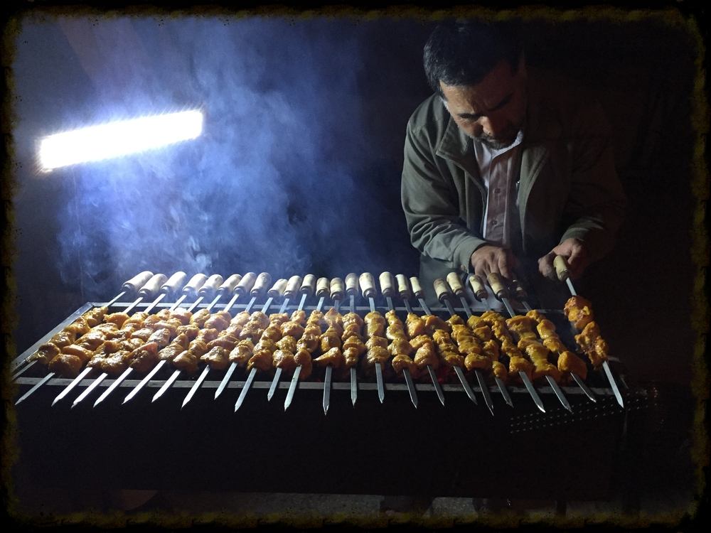 Men BBQ - the most delicious Kebab I've ever had
