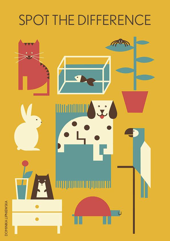 LOLLY magazine illustration | Dominika Lipniewska