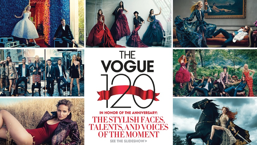 Vogue 120 portfolio, all photographs by Norman Jean Roy