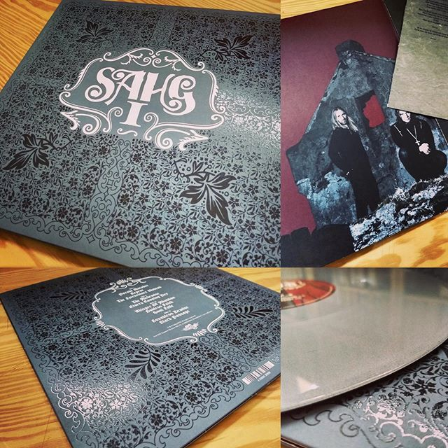 HERE ARE THE FIRST PICTURES of the freshly pressed and printed 'Sahg I' Double LP!! Looks bloody amazing, or what??🤘💀🤘 Pre-order campaign ends in just a few days – order NOW at https://www.pledgemusic.com/projects/sahg #sahg #sahgband #sahg1 #vinyllover #doublelp