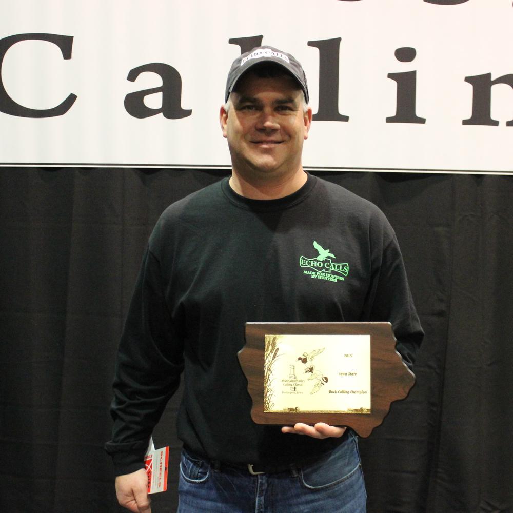 2015 Iowa State Duck Calling Champion :: Dan Oberfoell