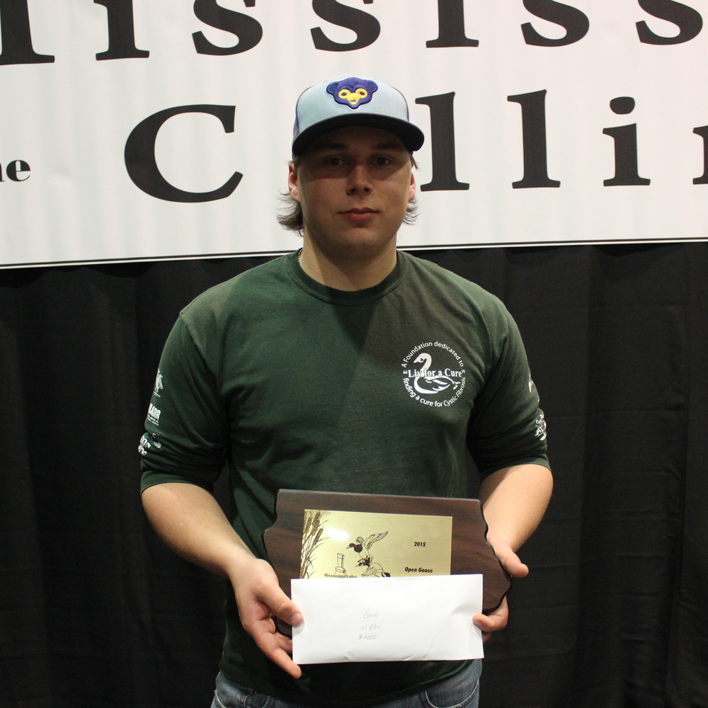 2015 Open Goose Calling Champion :: Robbie Iverson