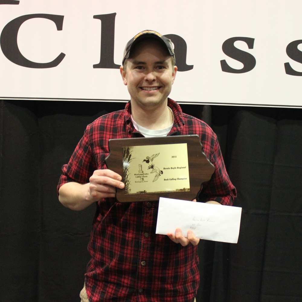 2015 Bernie Boyle Regional Duck Calling Champion :: Nick Johnson