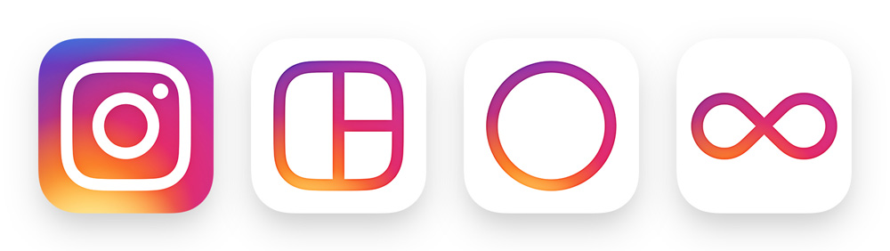The redesign created a visual family for other instagram apps