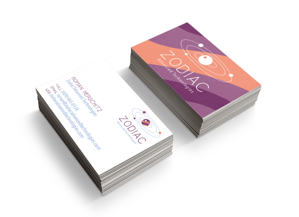 Custom Business Card Designer for Hire in Colorado - Zodiac Advanced Technologies