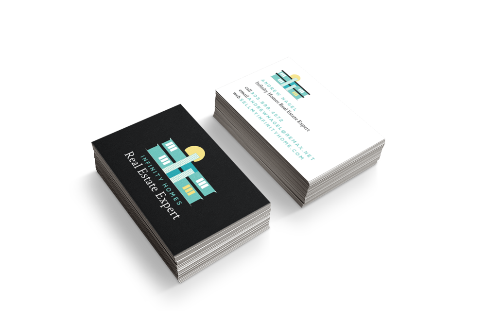 Business cards for real estate agents that don't suckl