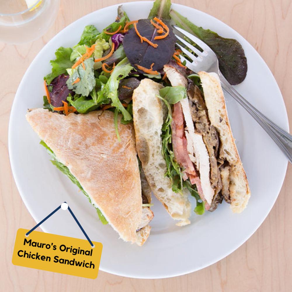 Mauro's Original Chicken Sandwich